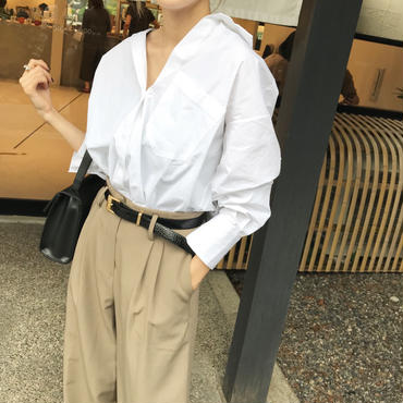 'NUEmade' looseシャツ【10月中旬より順次発送】