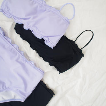 NUE bikini//frill【7月下旬より順次発送】