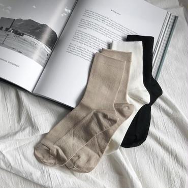 Autumn Socks【12月中旬より順次発送】