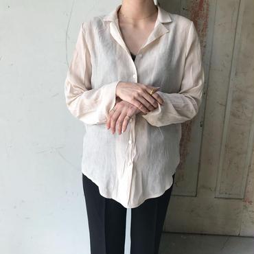 ヌーディ シャツ【5月中旬より順次発送】