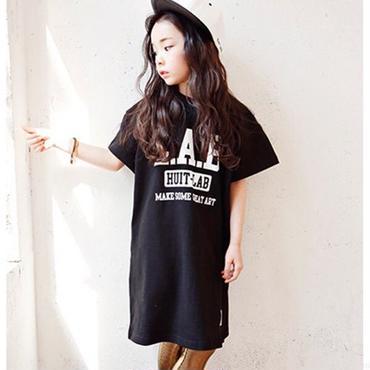 【HUIT LAB】Tシャツワンピース