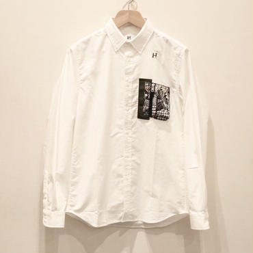 HBNS  ミリタリーポケットシャツ