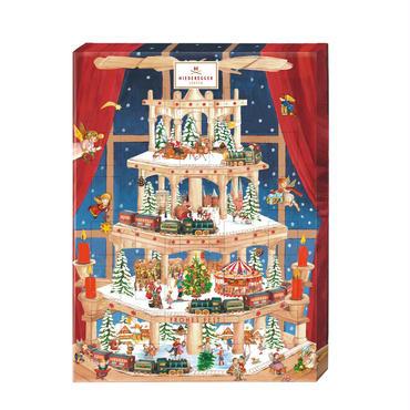 【ニーダーエッガー】アドベンツカレンダー 「ピラミッド」(ニーダーエッガーオリジナル手提げ袋付き!)
