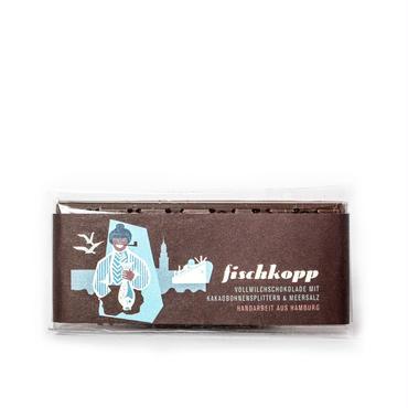 【ショコヴィーダ】フィッシュコップ(ミルクチョコレート・海塩・カカオニブ)