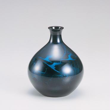 031-07 花瓶 宝明型(Sブルー)