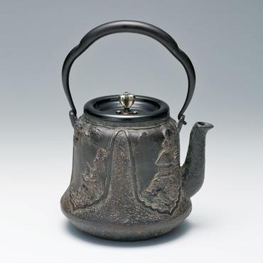 082-02 鉄瓶 富士型