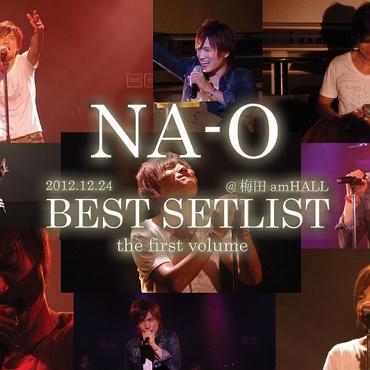 LIVE DVD『BEST SETLIST the first volume @amHALL 2012.12.24』