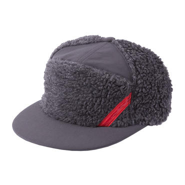 PHINGERIN / panel cap fluffy  (chacoal)
