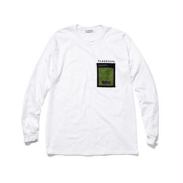 F-LAGSTUF-F x OUTDOOR / L/S T-SHIRTS (white)