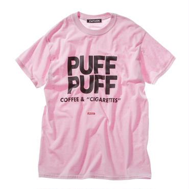 "offshore × DRAGON BALL × ZATUON / ""PUFF PUFF "" Tee (pink)"