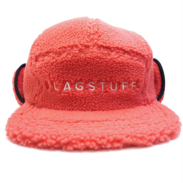 "F-LAGSTUF-F / ""F-LAGSTUF-F""FLEECE CAMP cap(pink)"
