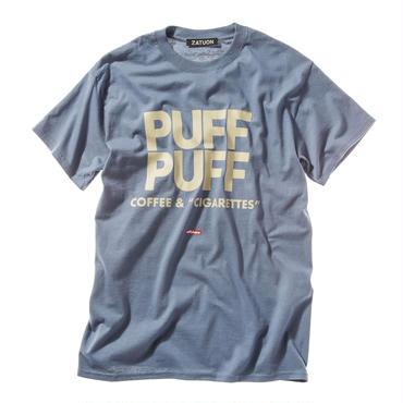 "offshore × DRAGON BALL × ZATUON / ""PUFF PUFF "" Tee (blue)"