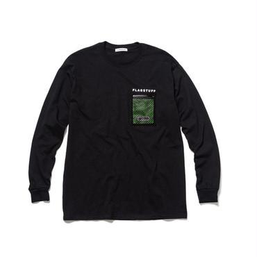 F-LAGSTUF-F x OUTDOOR / L/S T-SHIRTS (black)