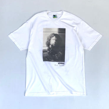 Voyage × Deodato / Photo Print S/S tee (white)