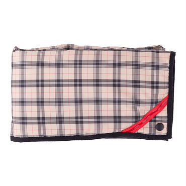 PHINGERIN / square warmer plaid (beige check)