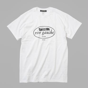 ZATUON / rive gauche tee (white)