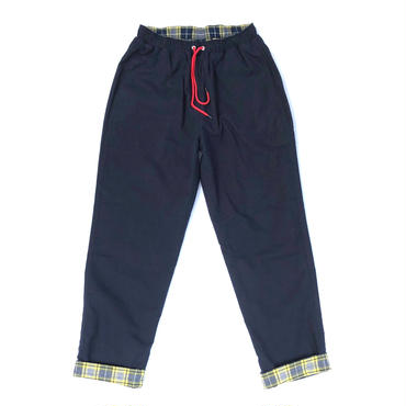 THREE FACE / REVERSIBLE EASY PANTS (navy)