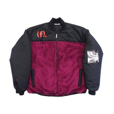 F-LAGSTUF-F / F/Z fleece jacket (purple×black)