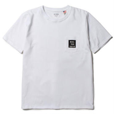 "WACKO MARIA "" OVER SIZE CREW NECK POCKET T-SHIRT """