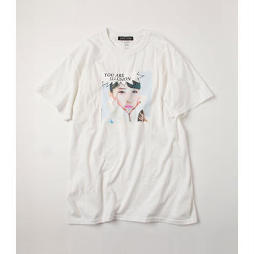 ZATUON x 川崎あや / illusion ss tee (white)
