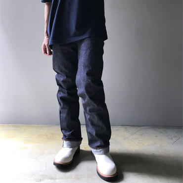 """csf for three face ""denim pants"