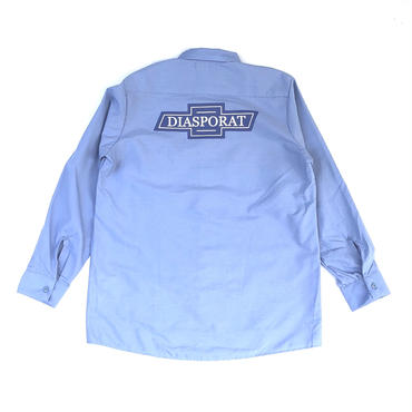 Diaspora skateboards / Chevy L/S Work Shirt (lt.blue)