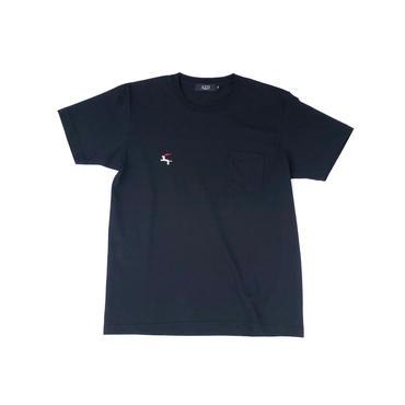 Diaspora skateboards / DET Pocket Tee (black)