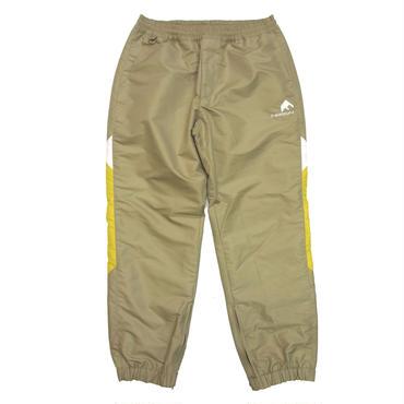 F-LAGSTUF-F / Nylon Track Pants (beige×yellow)