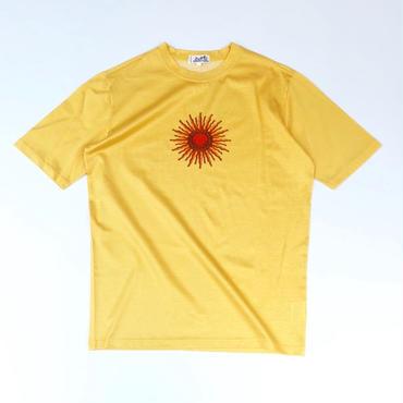HERMES /  太陽柄 T-shirt (yellow) (spice)