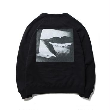 WACKO MARIA ×森山大道  / WASHED HEAVY WEIGHT CREW NECK SWEAT SHIRT(TYPE-3 : black)