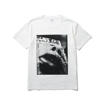 WACKO MARIA ×森山大道  /  STANDARD CREW NECK T-SHIRT(TYPE-5 : white)