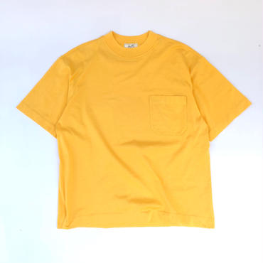 HERMES /  High Neck Pocket T-shirts (yellow) (spice)