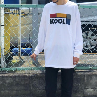 Dunno / KOOL L/S tee (white)