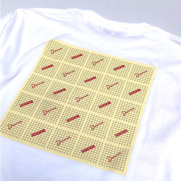 Dunno / Pattern L/S tee (white)