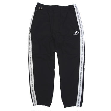 F-LAGSTUF-F / NYLON LINE PANTS (black)
