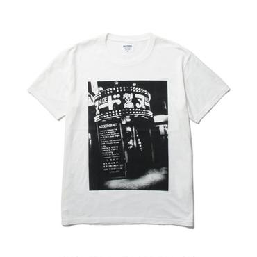 WACKO MARIA ×森山大道  /  STANDARD CREW NECK T-SHIRT(TYPE-8 : white)
