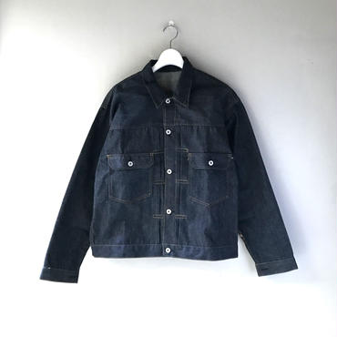 "THREE FACE /"" csf for three face "" DENIM JACKET -2nd-(indigo)"