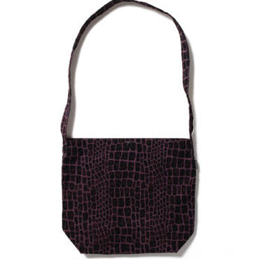 "WACKO MARIA "" CORDUROY SHOOLDER BAG ""  (PURPLE)"