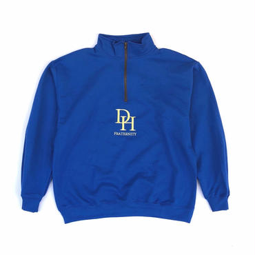 Diaspora skateboards / HD Quater Zip Up Sweatshirt (royal)