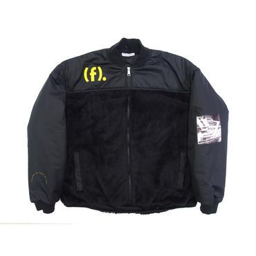 F-LAGSTUF-F / F/Z fleece jacket (black)