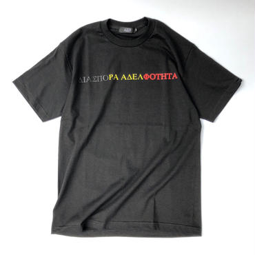 Diaspora skateboards / Tri Magic Circle Tee (black)