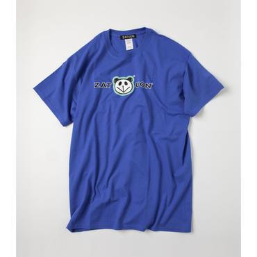 ZATUON x 川崎あや / panda ss tee (blue)