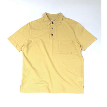 "HERMES /  ""H"" S/S Polo Shirt  (yellow) (spice)"