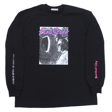 "F-LAGSTUF-F / ""ENEMY"" L/S Tee (black)"