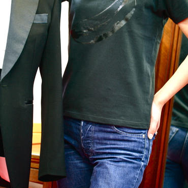 BLACK BANANA プリントTシャツ