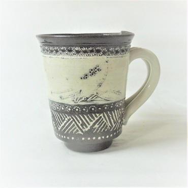 印花文マグカップ《S飲2i6》