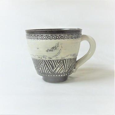 印花文マグカップ《S飲2i5》