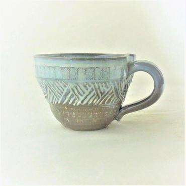 乳濁釉マグカップ《S飲2u4》