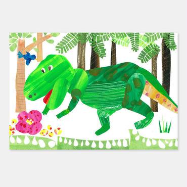 ポストカード やっと見つけた!ジャングルの宝物 封筒付き