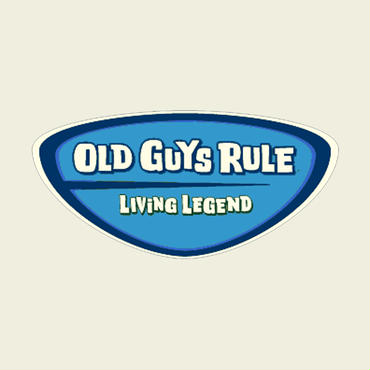 OG939 Legend Badge Sticker